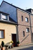 Haus im deutschen dorf — Stockfoto