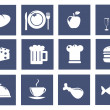 Kitchen and food icons — Stock Photo #8427184
