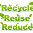 Stock Photo: Recycle background