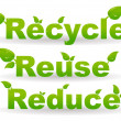 Stockfoto: Recycle background