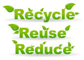 Recycle background — Stock Photo