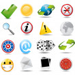 Stock Photo: Icon Set
