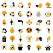 Vector set of environmental / recycling icons — Stock Photo #9636726