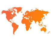 World map vector — Stock Photo