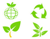 Environmental conservation symbols 3 — Stock Photo
