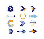 Directions Icons vector 2 — Stock Photo