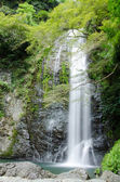 Water fall at the Mino Quasi National Park in Japan — Stock Photo