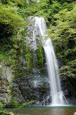 Water fall at the Mino Quasi National Park in Japan — Stock Photo