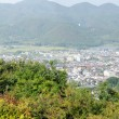 Panorama view of Arashiyama — Stock Photo