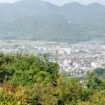 Panorama view of Arashiyama — Stock Photo