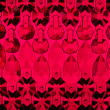 Stock Photo: Red glass background