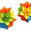 Classic Royal kusudama — Stock Photo