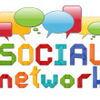 Social network concept — Stock Photo #10367926