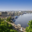 Kiev the capital of Ukraine - Stock Photo