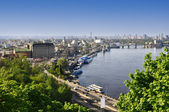 Kiev the capital of Ukraine — Stock Photo