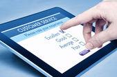 обслуживание клиента онлайн — Стоковое фото