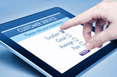 Servizio clienti online — Foto Stock