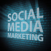 Social Media Marketing concept — Stock Photo