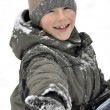 Outdoor portrait of a boy — Stock Photo #8632974