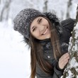 Beautiful smiling girl - Stock fotografie