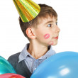 Boy with balloons — Stock Photo #8857584