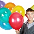 Stock Photo: Boy in birthday hat