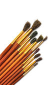 Different art brushes — Stock Photo