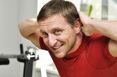 Fitness man — Stock Photo