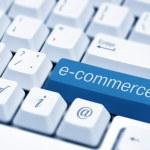E-commerce concept image — Stock Photo