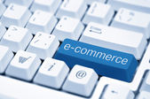 E-commerce concept image — Stock Photo