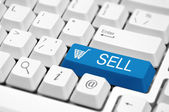 On-line trading — Stock Photo