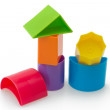 Stock Photo: Blocks of different shapes and colors