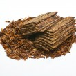 Flake pipe tobacco — Stock Photo