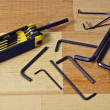 Stockfoto: Allen Wrenches