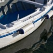 Stock Photo: Boat bumper