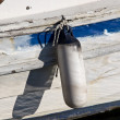 Boat bumper — Stock Photo