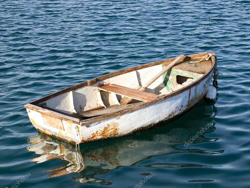 Old boat — Stock Photo © nevenm #8166037