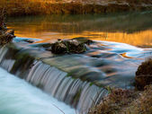 Red creek — Stock Photo