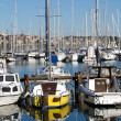 Stock Photo: Boats in port