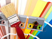 Paint brush — Stockfoto