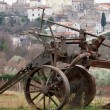 Old plough - Stock Photo
