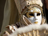 Mask on the carnival — Stock Photo