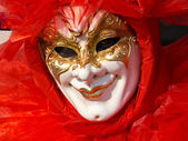 Red mask — Stock Photo