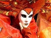 Orange mask — Stock Photo