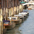 Boats ion canal — Stock Photo