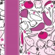 Royalty-Free Stock Immagine Vettoriale: Seamless pattern with vegetables