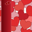 Vector de stock : Heart background