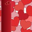 фон сердца — Cтоковый вектор