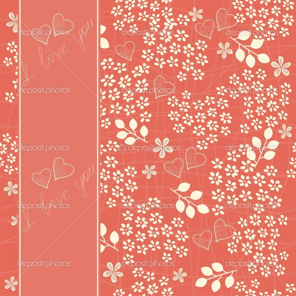 Heart background  Imagens vectoriais em stock #8864326