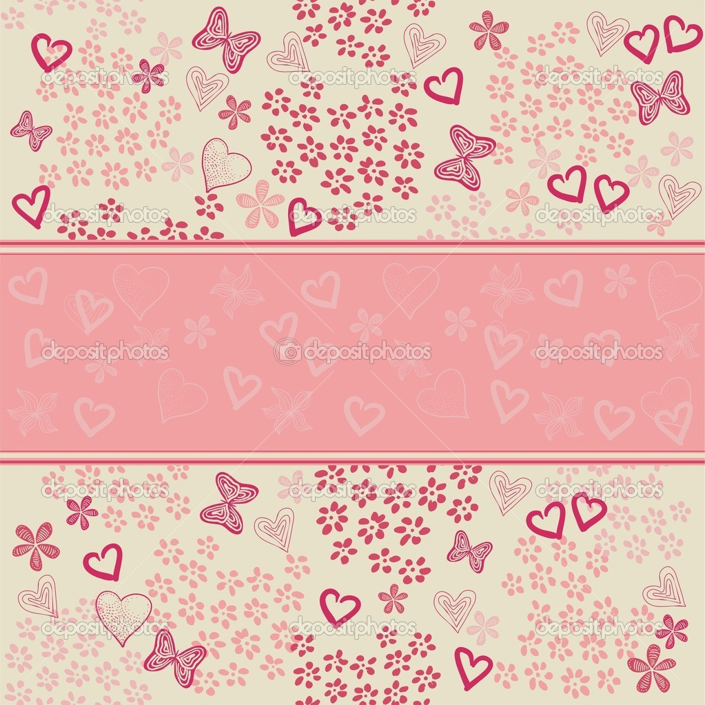 Heart background — Vektorgrafik #8866045